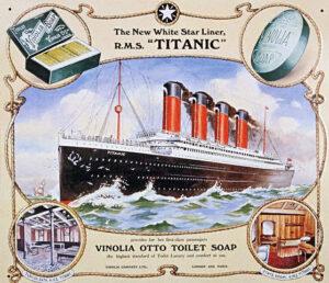 Poster Advertising Vinolia Otto Soap for the ca. 1900