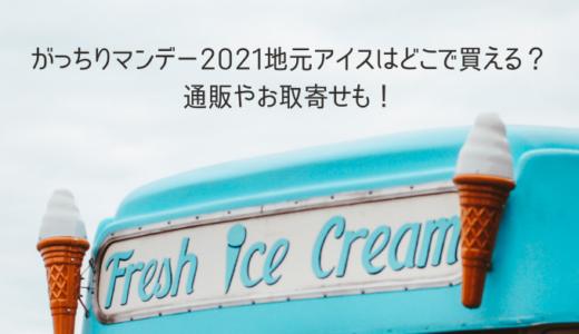 がっちりマンデー2021地元アイスはどこで買える?通販やお取寄せも